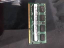 Memória RAM 4 Gigas Notebook DDR3