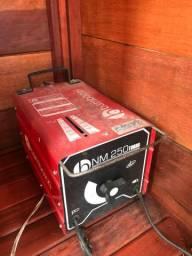 Máquina de solda bambozzi nm 250