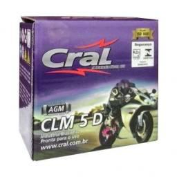 Bateria de moto Cral 130,00 reais a vista retirada na loja