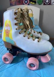 Patins Barbie 4 rodas
