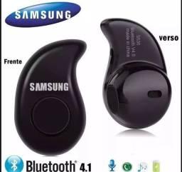 Fone de Ouvido Ponto Eletrônico Bluetooth Samsung Reprodução de Músicas