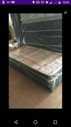 CAMA BOX CASAL NOVA- NOVA SERRANA - FRETE GRÁTIS