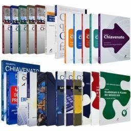 Coleção de Livros Administração - Chiavenato e outros autores