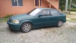 Honda civic 98.   GASOLINA E GNV