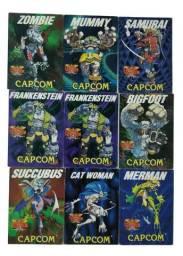 Coleção de Cartão Darkstalker Capcom Arcade Antigo