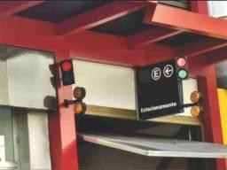 Sinaleira de leds incotel bivolt portão de garagem