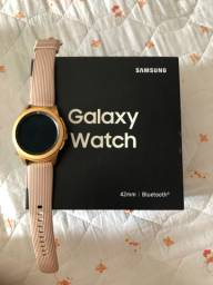 Galaxy Watch semi novo na caixa