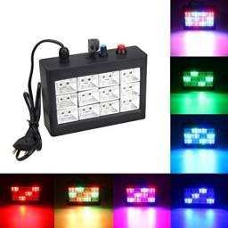 Strobo Rítmico 12 LEDS | RGB