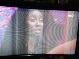 Smart tv tela curva 40