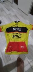 Camisa ciclismo nova tamanho g