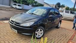 Financia 100% Peugeot  206 1.4 flex 2008 Completo
