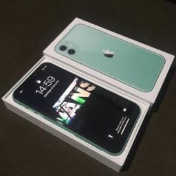 iPhone 11 Verde -64Gb- Com Nota Fiscal - 2 meses e meio de uso