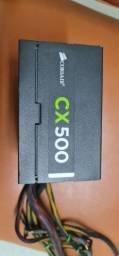 Título do anúncio: Fonte corsair CX500 com defeito