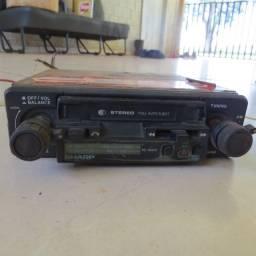 radio toca fitas sharp para carros antigos