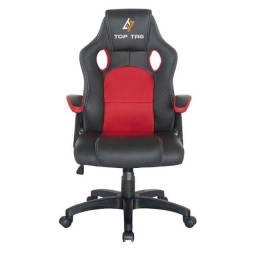 Título do anúncio: cadeira gamer giratoria vermelha ou preta hs2706 top-tag