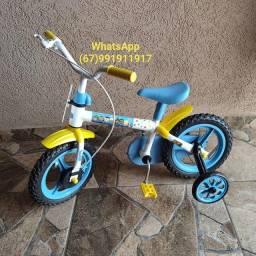 Bicicleta infantil clubinho salva vidas.(nova)