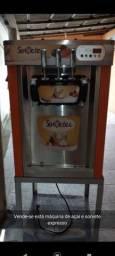 Máquina de açaí e sorvete expresso