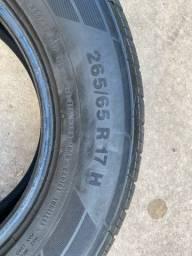Jogo de pneus continental 265/65/17