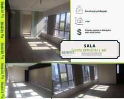 Título do anúncio: Sala à venda, 49 m² - Santa Efigênia - Belo Horizonte/MG