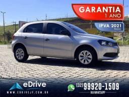 VW Gol Trendline 1.6 Flex - 1 Ano de Garantia - IPVA Pago - Completo - Baixo KM - 2015