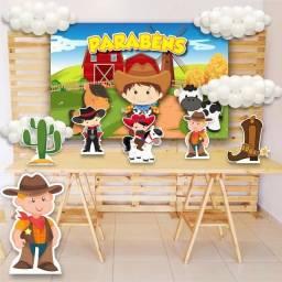 Título do anúncio: Aluguel Kit decoração festa infantil Fazendinha