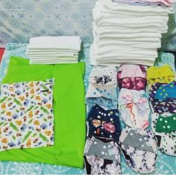 Fraldas ecológicas e absorventes