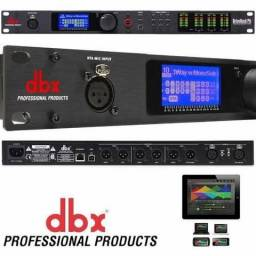 Processador Digital Dbx DriveRack Pa2 + Microfone Dbx Rta