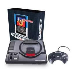 Console Mega Drive + 22 Jogos + 1 Joystick