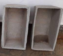 Vasos decorativos de cimento novos