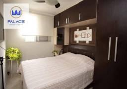 Apartamento com 2 dormitórios à venda, 56 m² por R$ 175.000,00 - Nova América - Piracicaba