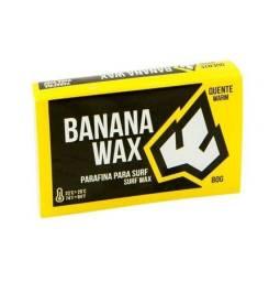Parafina Banana Banana Wax Warm 80g. Água Quente