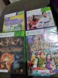 Título do anúncio: Xbox 360 com kinet