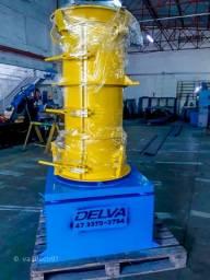 Conjunto vibratório para fabricação de tubos