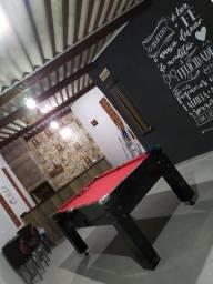 Mesa de Bilhar de pedra / Nova/ Barato!!! com acessórios