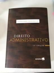 Livro de Direito Administrativo, de Fernanda Marinela