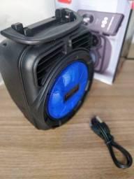 Caixa De Som Portátil Wireless Bluetooth Kimiso Original -Preta 4.9
