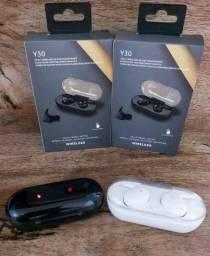 Título do anúncio: Y30 fone de ouvido sem fio tws blutooth 5.0 com cancelamento de ruído!!