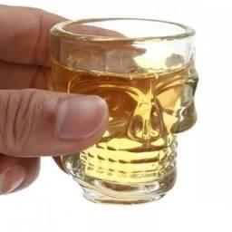 Kit 6 Copos Tequila Shot Caveira Dose