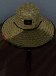 Chapéu Rip Curl Maui Straw Original Aba estampada