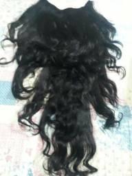 Extensão de cabelo ondulado