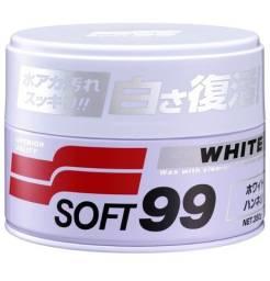 Cera White Cleaner Soft99 Para Carros Claros 350g