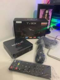 Conversor Smart Tv Box 8gb De Ram 64gb Pro 4k - Android 10.1
