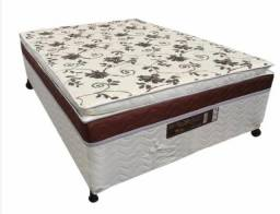 Cama Box com Pillow Casal Cama Box