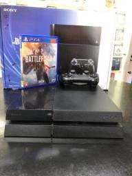 LINDO [ PS4 FAT DE 500 GB + JOGO BRINDE ]