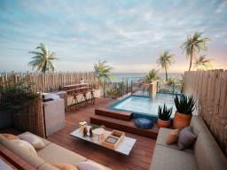 HC - Apto 2 Quartos c/Rooftop e Piscina Privativa | Cond de Luxo Beira Mar