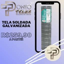 Promoção Tela Soldada Galvanizada Ponto Telas!