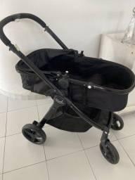 Carrinho de bebê + bebê conforto burigotto. Aceito cartão