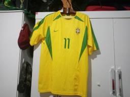 Camisa Oficial Seleção Brasileira copa 2002