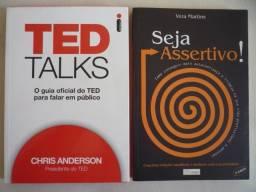 Livros Ted Talks e Seja Assertivo - Novos