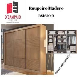 Guarda Roupa Madero 03 portas X2